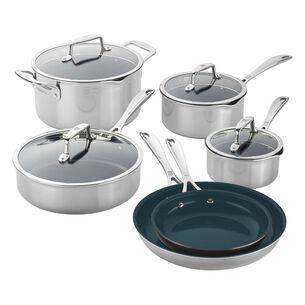 Zwilling Clad CFX 10-Piece Nonstick Cookware Set