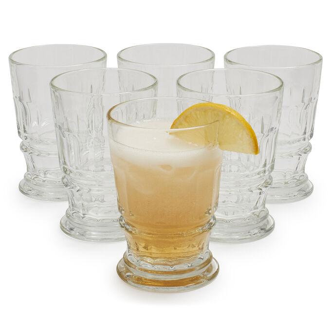 La Rochère Double Old-Fashioned Bistro Glasses, Set of 6