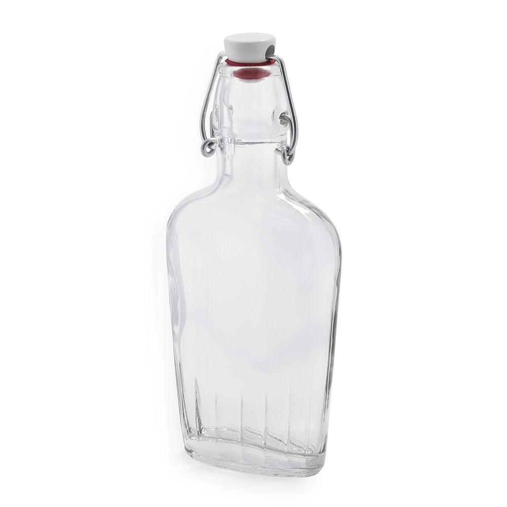 Bormioli Rocco Flask Bottle, 8.5 oz.
