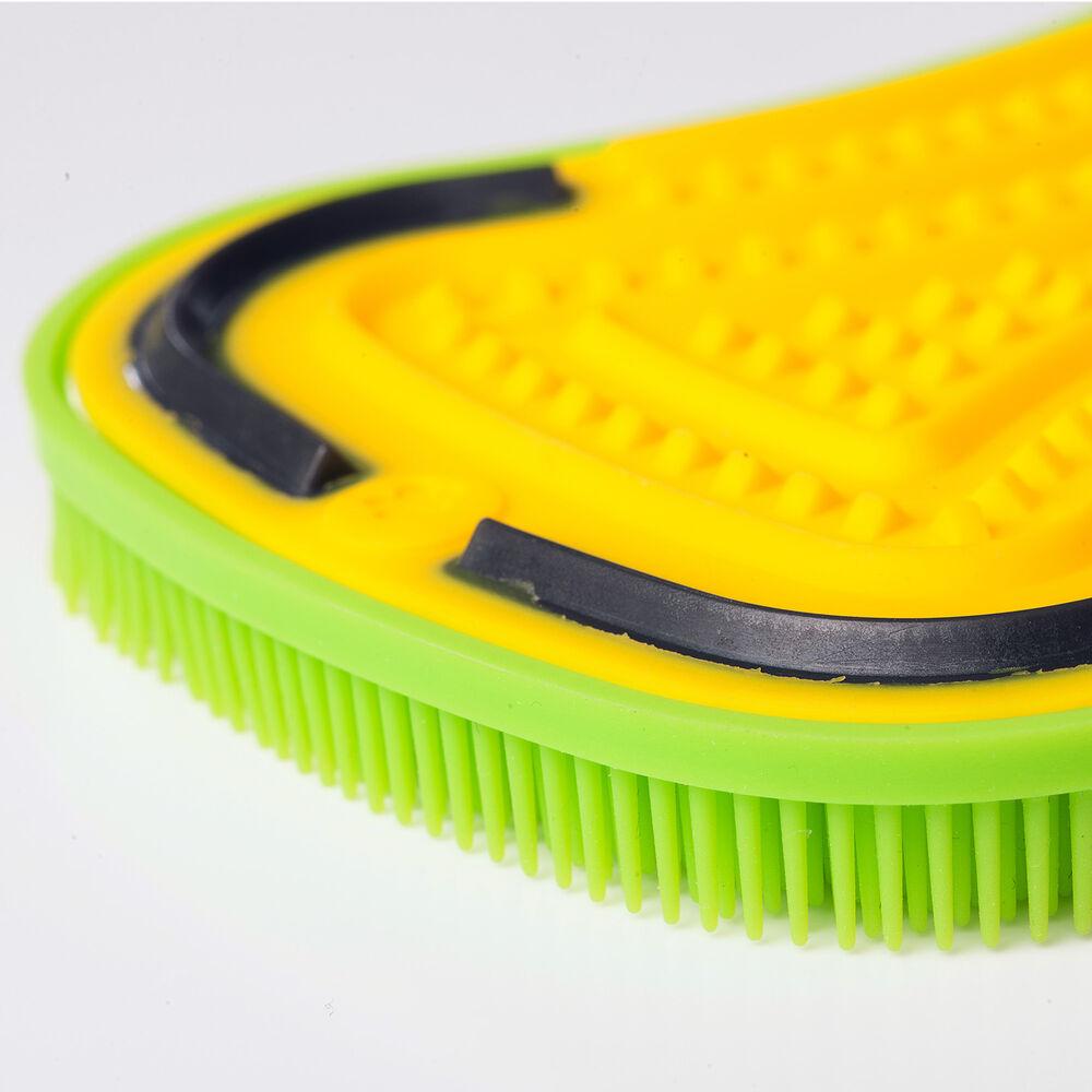 3-in-1 Silicone Scrubber Sponge