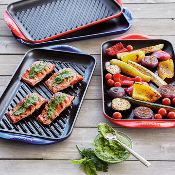 Le Creuset Extra-Large Double-Burner Grill
