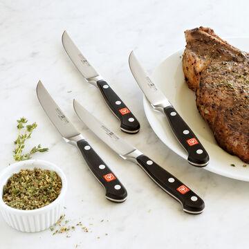 Wüsthof Classic 4-Piece Steak Knife Set