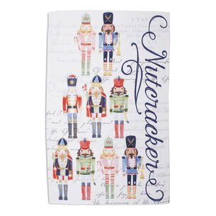 "Nutcracker Kitchen Towel, 30"" x 20"""