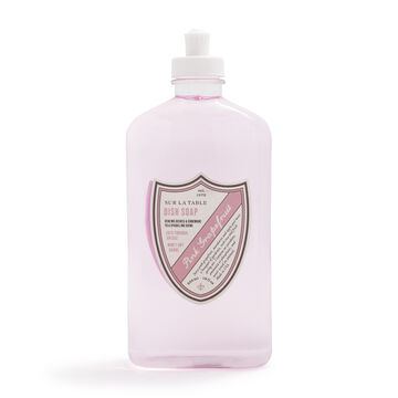Sur La Table Pink Grapefruit Dish Soap, 18 oz.