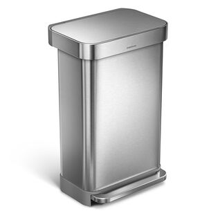 simplehuman Rectangular Step Trash Can, 11.8 gal.