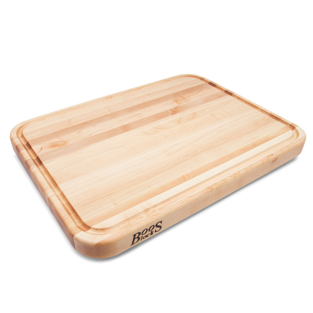 John Boos Tenmoku Maple Edge-Grain Cutting Board