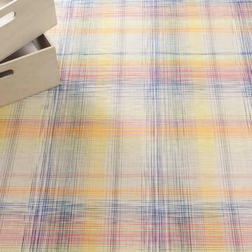 Chilewich Plaid Sorbet Floor Mat