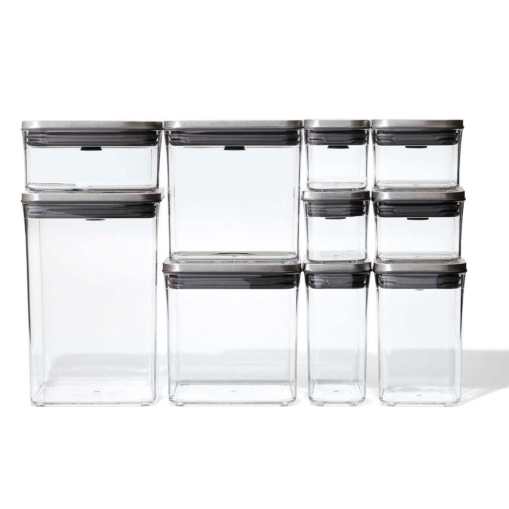 OXO SteeL 12-Piece POP Container Set
