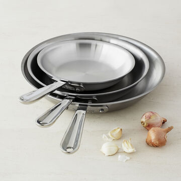 All-Clad d5 Brushed Stainless Steel Skillet