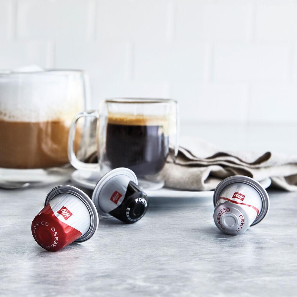 illy Espresso Intenso Aluminium Capsules, Dark Roast