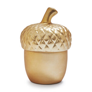 Figural Acorn with Toasted Chestnut Scented Candle, 3.4 oz.