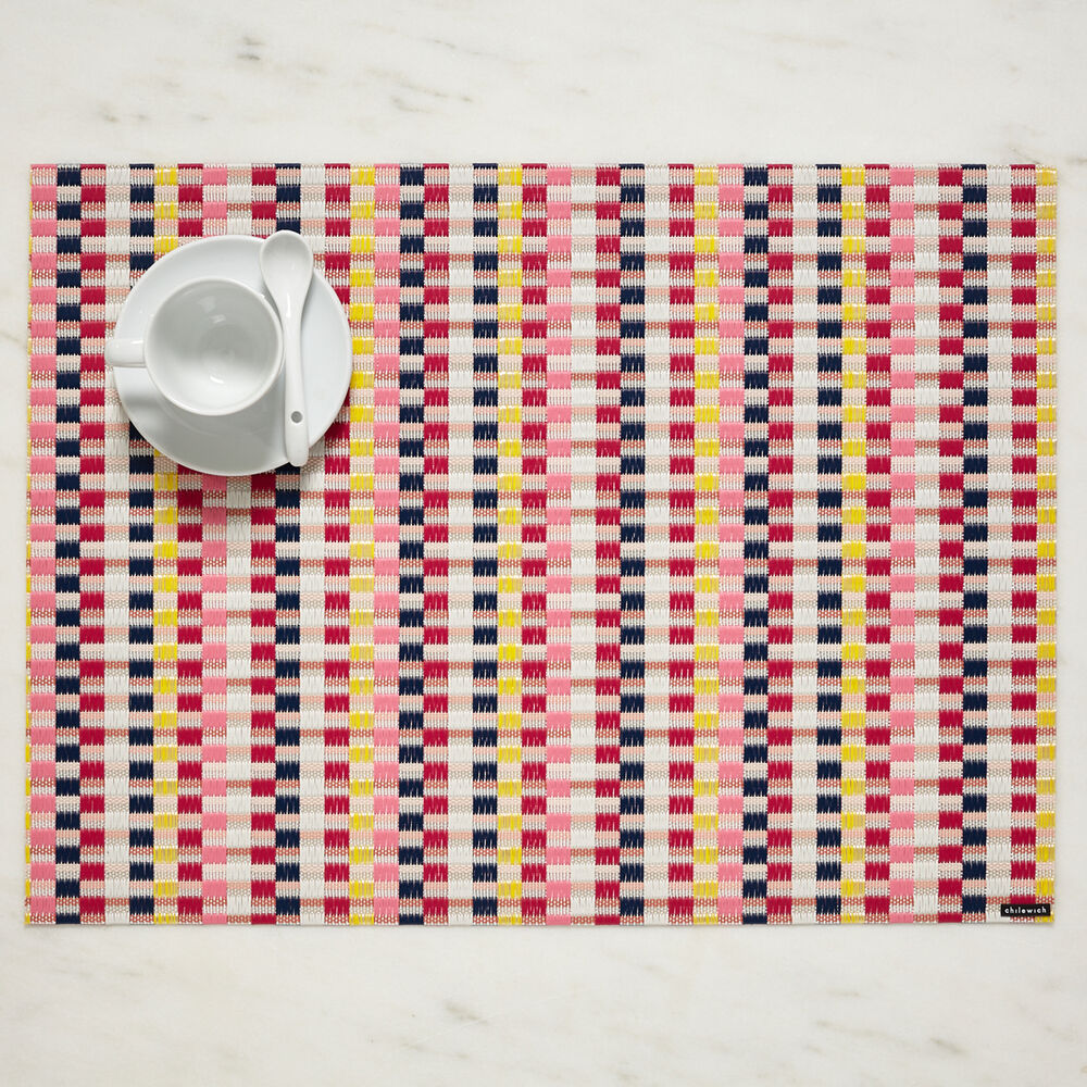 """Chilewich Heddle Placemat, 19"""" x 14"""""""