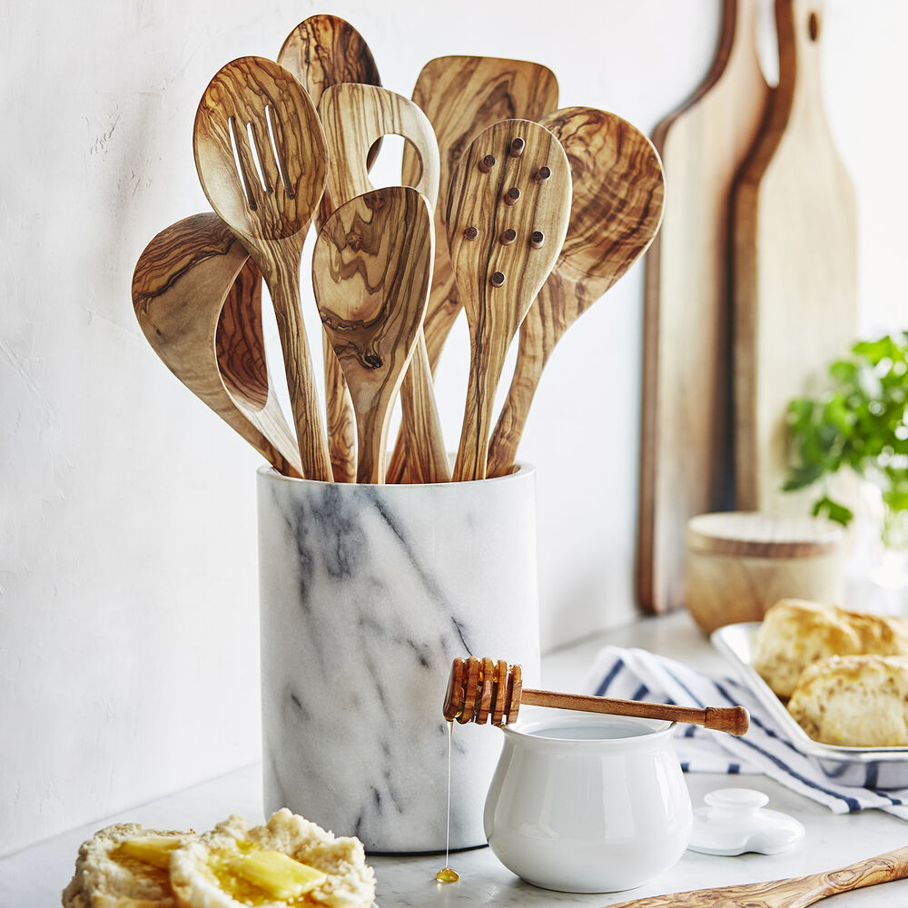 Sur La Table Olivewood Cook's Spoon