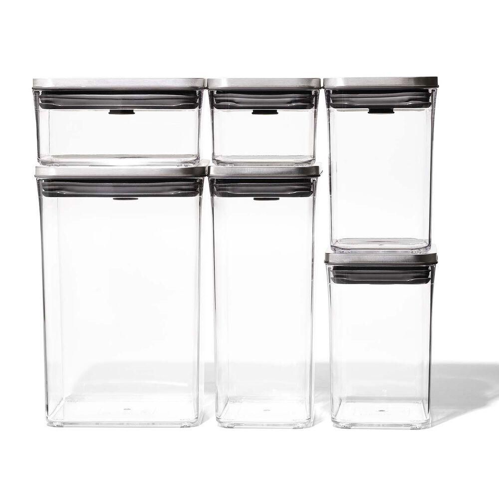 OXO SteeL 6-Piece POP Container Set