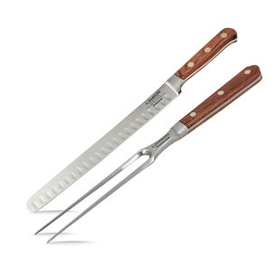 Lamson Rosewood Forged 2-Piece Roast Carving Set