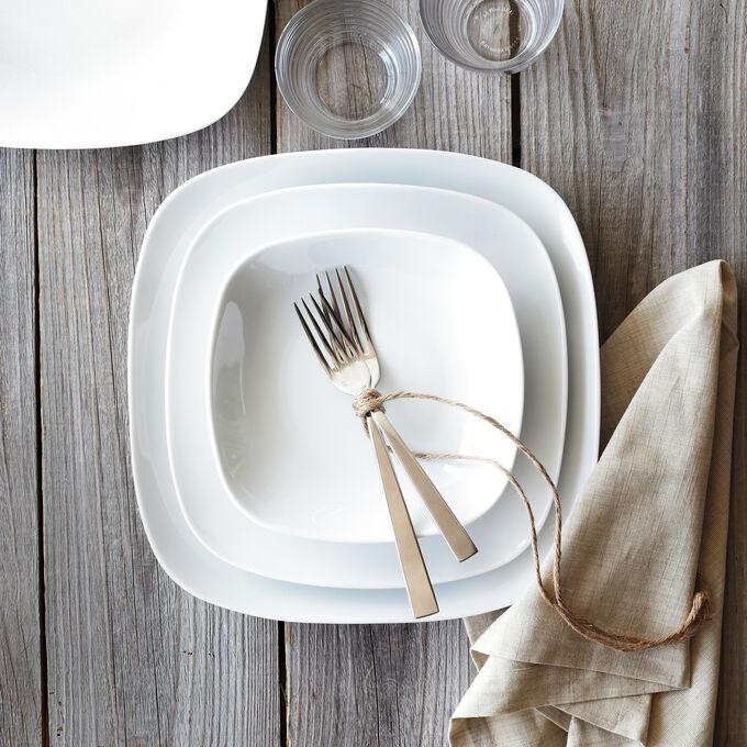 Modern Dinner Plates, Set of 4
