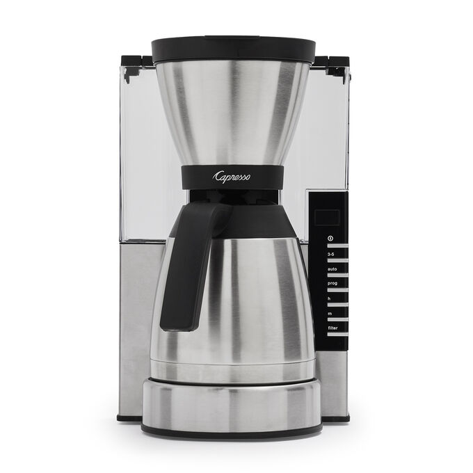 Capresso 10-Cup Rapid Brew Coffee Maker with Stainless Steel Thermal Carafe