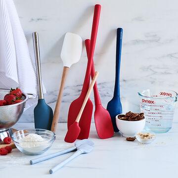 Sur La Table Flex-Core Mini Silicone Spatula and Spatula Spoon, Set of 2