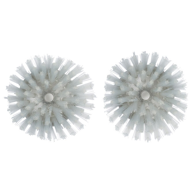 OXO SteeL Soap-Squirting Palm Brush Refills, 2-Pack