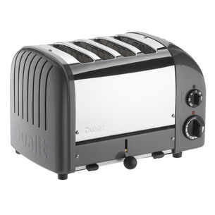 Dualit Cobble-Gray NewGen 4-Slice Toaster