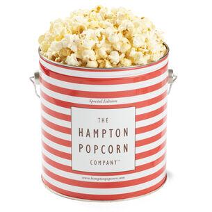 The Hampton Popcorn Co. White Truffle Parmesan Popcorn Tin, 1 gallon