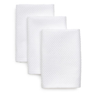 "Dual-Sided Dishcloths, 11"" x 13"", Set of 3"