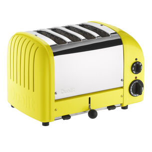 Dualit Citrus-Yellow NewGen 4-Slice Toaster