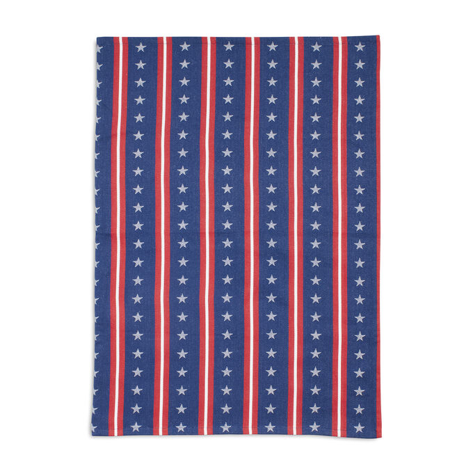 Stars & Stripes Jacquard Kitchen Towel