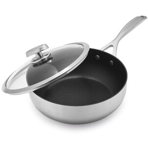 Scanpan CS+ Deep Sauté Pan with Lid, 4 qt.