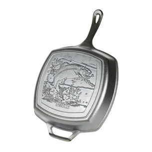 """Lodge Rainbow Trout Grill Pan, 10.5"""""""