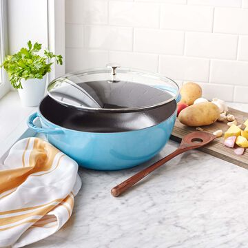 Staub Le Grande Oven with Glass Lid, 7.4 qt.