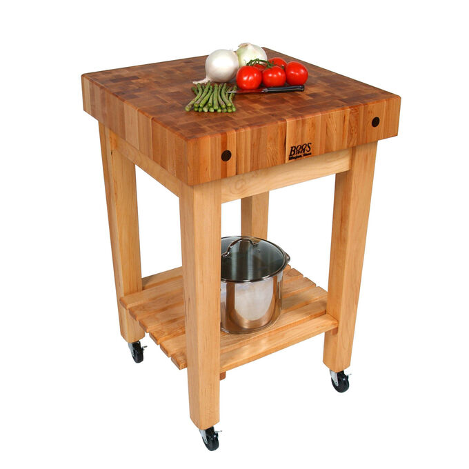 John Boos & Co. Gourmet Block with Casters