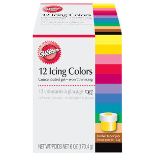 Wilton 12-Color Icing Kit