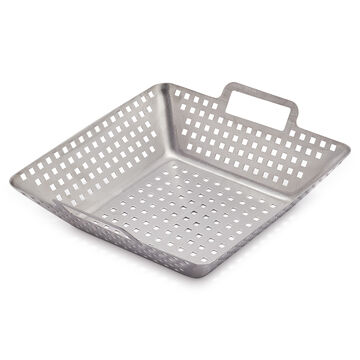 Sur La Table Stainless Steel Grill Basket
