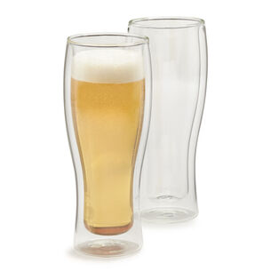 Zwilling J.A. Henckels Sorrento Double-Wall Beer Glasses, 14 oz., Set of 2
