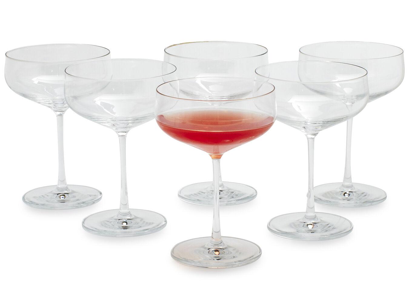 Schott Zwiesel Air Coupe Glasses, Set of 6   Sur La Table