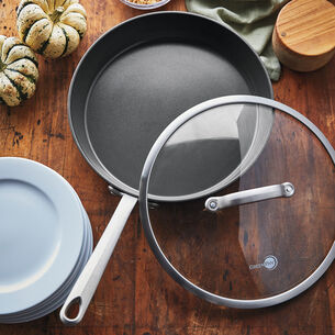"""GreenPan Craft 12"""" Skillet with Lid"""