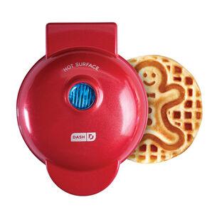 Dash Gingerbread Man Mini Waffle Maker