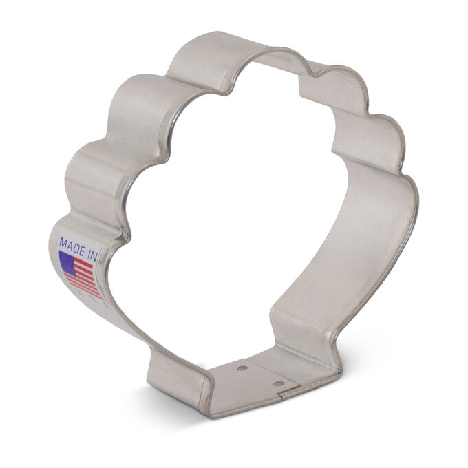 Shell Cookie Cutter, 3.5""