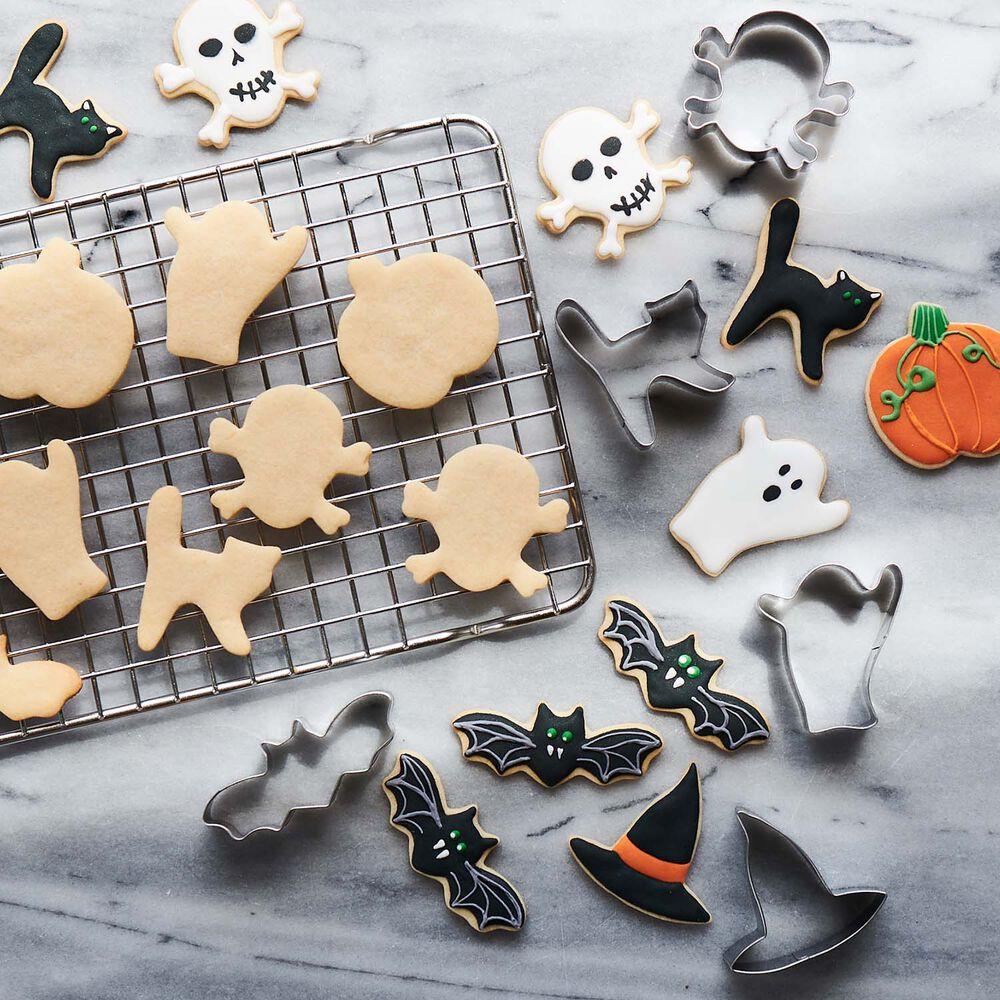 Halloween Mini Cookie Cutters, Set of 6
