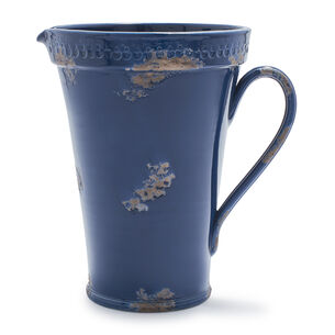 Rustic Blue Pitcher