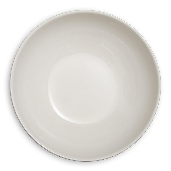 Pearl Stoneware Serving Bowl