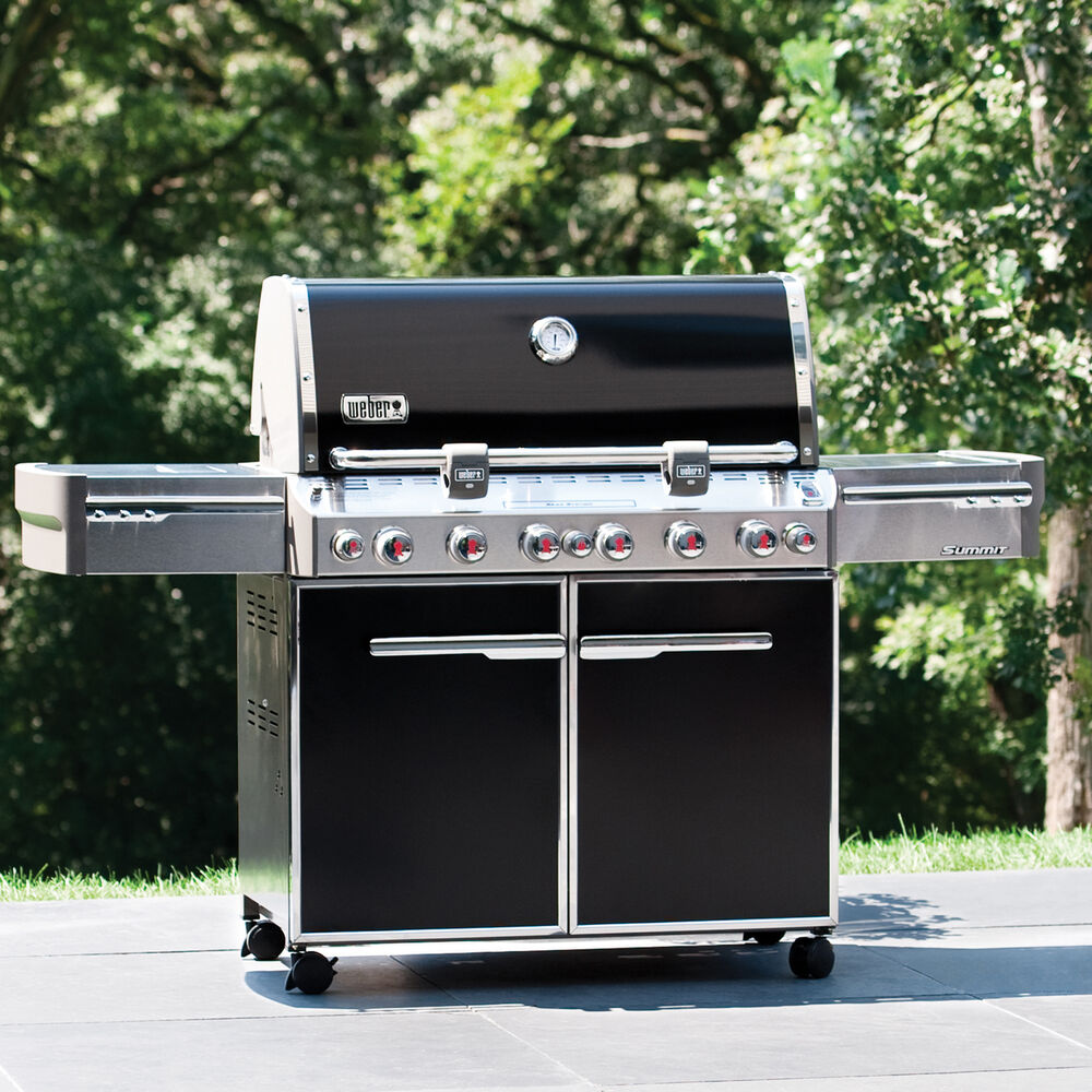 Weber® Summit E-670 Natural Gas Grill