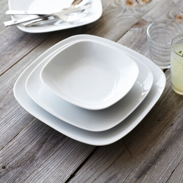 Modern Soup Plate, Set of 4