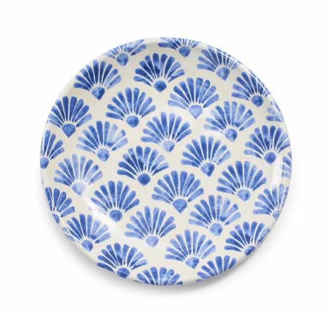 Oceana Fan Salad Plate