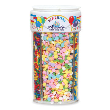 Birthday Accents Sprinkles