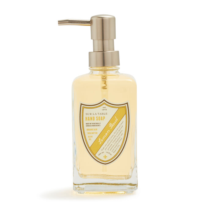 Sur La Table Lemon Basil Hand Soap, 13 oz.