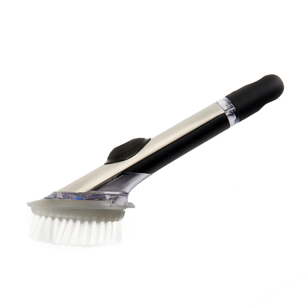 OXO SteeL Soap-Squirting Dish Brush