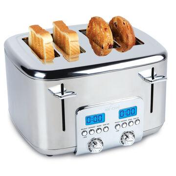 All-Clad Stainless Steel 4-Slice Digital Toaster