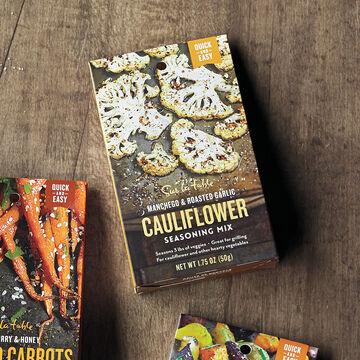 Sur La Table Manchego and Roasted Garlic Cauliflower Seasoning Mix